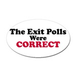 The Exit Polls Were Correct