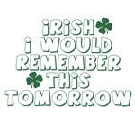 IRISH I Would Remember This Tomorrow