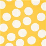 Golden Yellow Polka Dots