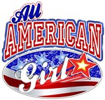 All American Patriotic Girl 