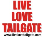 Live Love Tailgate Cardinal