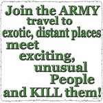 Join the Army to Travel