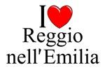 I Love (Heart) Reggio nell'Emilia, Italy