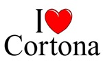 I Love (Heart) Cortona, Italy