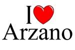 I Love (Heart) Arzano, Italy