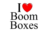 I Love (Heart) Boom Boxes