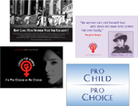 Pro Choice Quotes Postcards, Gifts