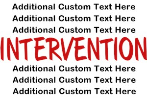 Intervention (Custom Text)