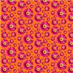 Fuchsia Daisy Pattern