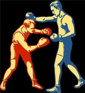 Retro Boxing Men