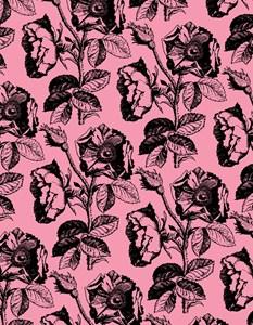 Rose Pattern Pink