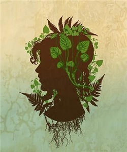 Leaf And Vine Woman
