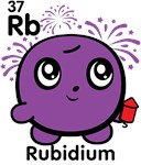 Cute Element Rubidium Rb