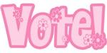 Pink Vote T-shirt