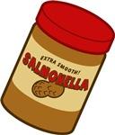 Salmonella Peanut Butter T-shirts