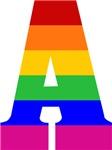 Rainbow Initials