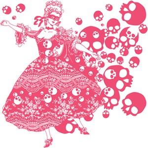 Pink Skull Dancer