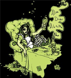 Alice Drinks Absinthe Now