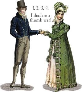 Regency Thumb War