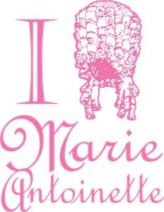 I Love (Wig) Marie Antoinette Pink