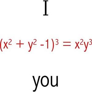 Math Love Formula