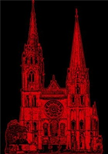 Red Cathedral Graphic