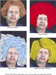 Margaret Thatcher In A Wig