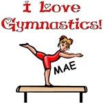 I Love Gymnastics (Mae)