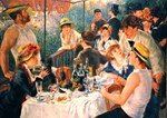 Famous Paintings: Luncheon of The Boating Party