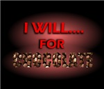 i will for chocolate