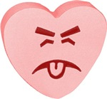 Pink Yuck Face