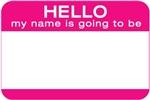 Pregnancy Name Badge