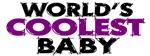 World's Coolest Baby (Purple)
