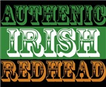 Authentic Irish Redhead