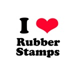 I Love Rubber Stamps