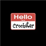 Crocheter Nametag