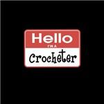 Crocheter Nametag