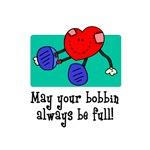 May Your Bobbin Be Full - Sewing