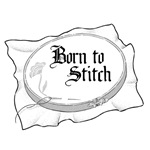 Embroidery Hoop - Born to Stitch