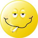 Smoker Smiley Face