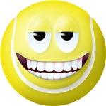 Tennis Ball 2 Smiley Face