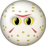 Hockey Mask Smiley Face