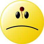 Bullet Hole 2 Smiley Face