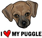 I Heart My Puggle