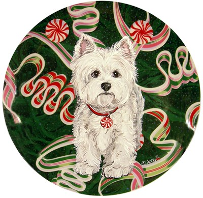 Porcelain Ornaments Dog Art!