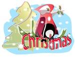 BIRDS: CHRISTMAS CARDINAL