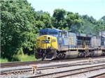 CSX Q190 Doublestack Train