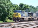 CSX Q190 Doublestack Train