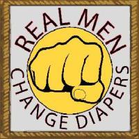 Real men change diapers