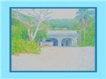 Caribbean Pastel Artwork